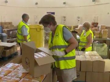 Banco de Alimentos busca voluntarios que ayuden a su labor este verano.