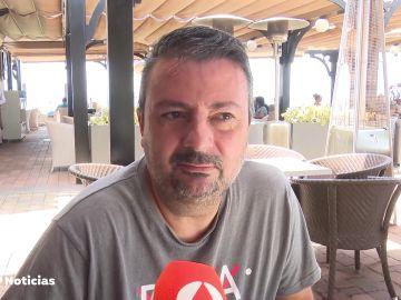 """Francisco vuelve a trabajar en Canarias tras año y medio en ERTE gracias al turismo nacional: """"Hay que seguir"""""""