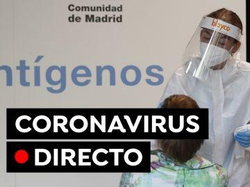 Coronavirus España: Vacuna contra el COVID-19 y nuevas restricciones, en directo
