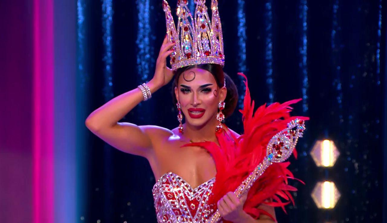 Carmen Farala se corona como ganadora de 'Drag Race España'