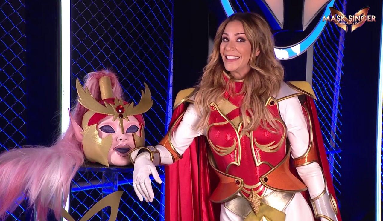 Tamara Gorro reta a su marido Ezequiel Garay a participar en 'Mask Singer'