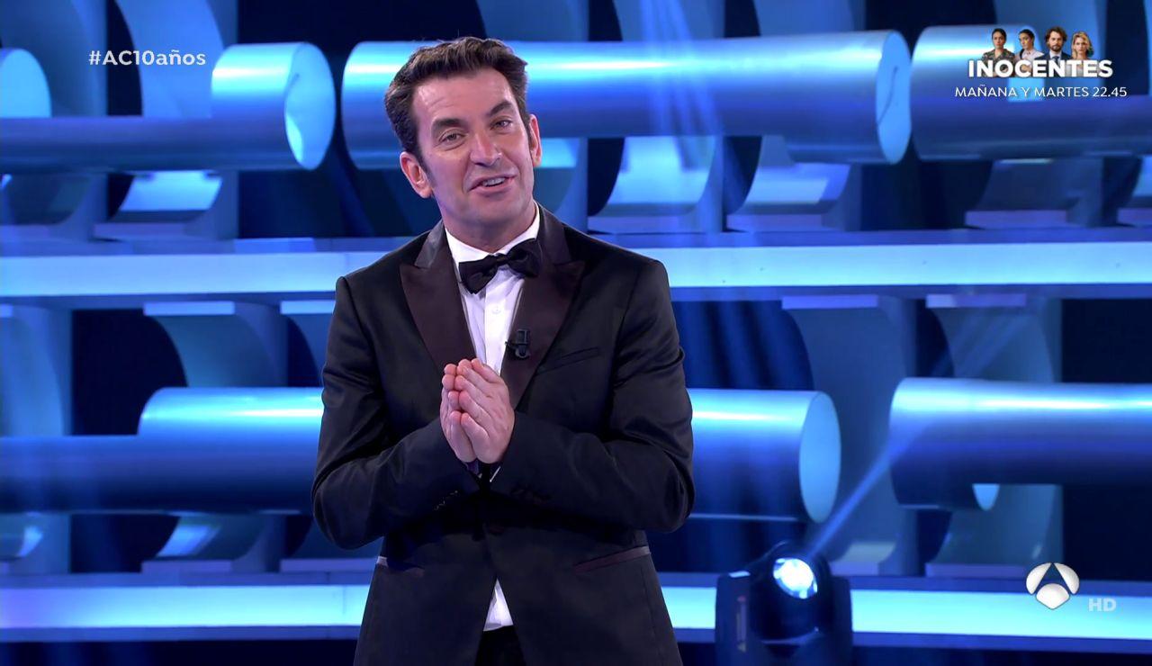 El emotivo mensaje de Arturo Valls tras el final de '¡Ahora caigo!'