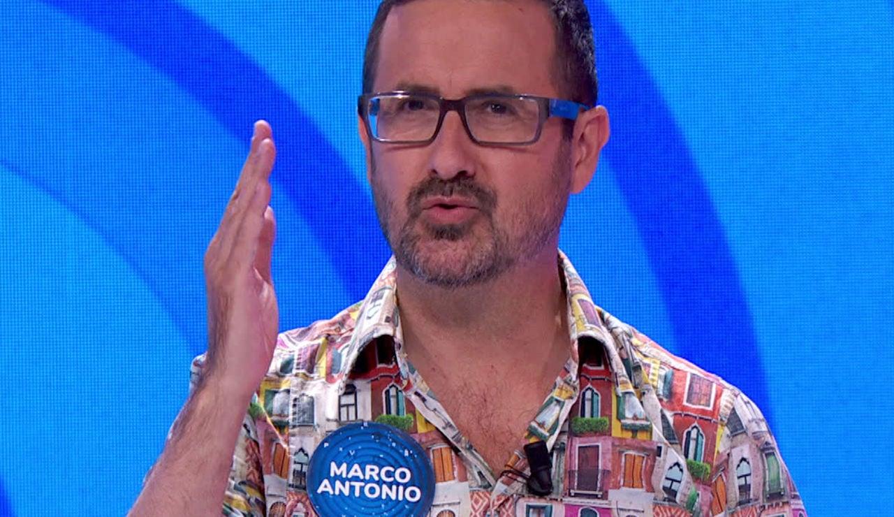 Marco Antonio, concursante de 'Pasapalabra'