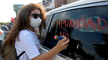 Protestas por el referéndum de México, celebrado el 1 de agosto.