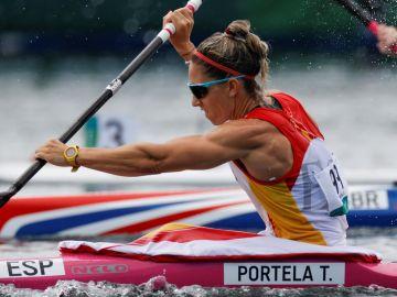 Histórica clasificación de Teresa Portela para las semifinales de K1 de los Juegos Olímpicos de Tokio 2020