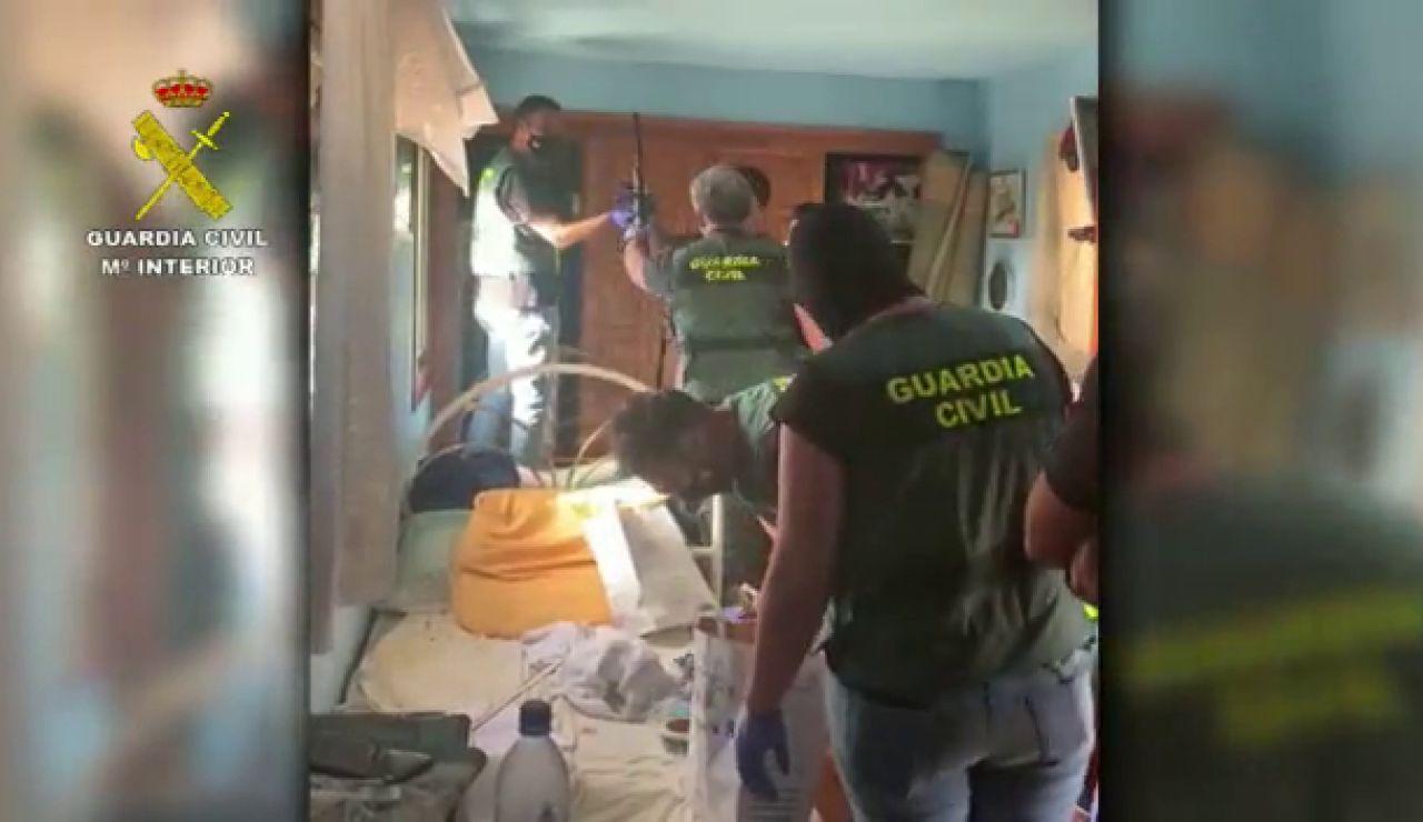Descubren en Tenerife un taller clandestino que suministraba desde munición para ametralladoras hasta minas anticarro