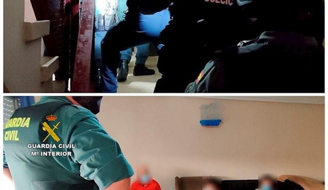 19 personas son detenidas en una operación contra la inmigración ilegal