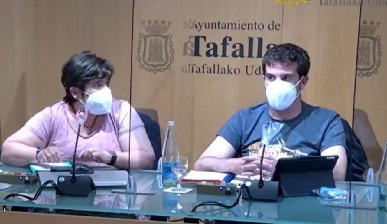 Concejal EH Bildu, Xabier Alkuaz en Tafalla, Navarra