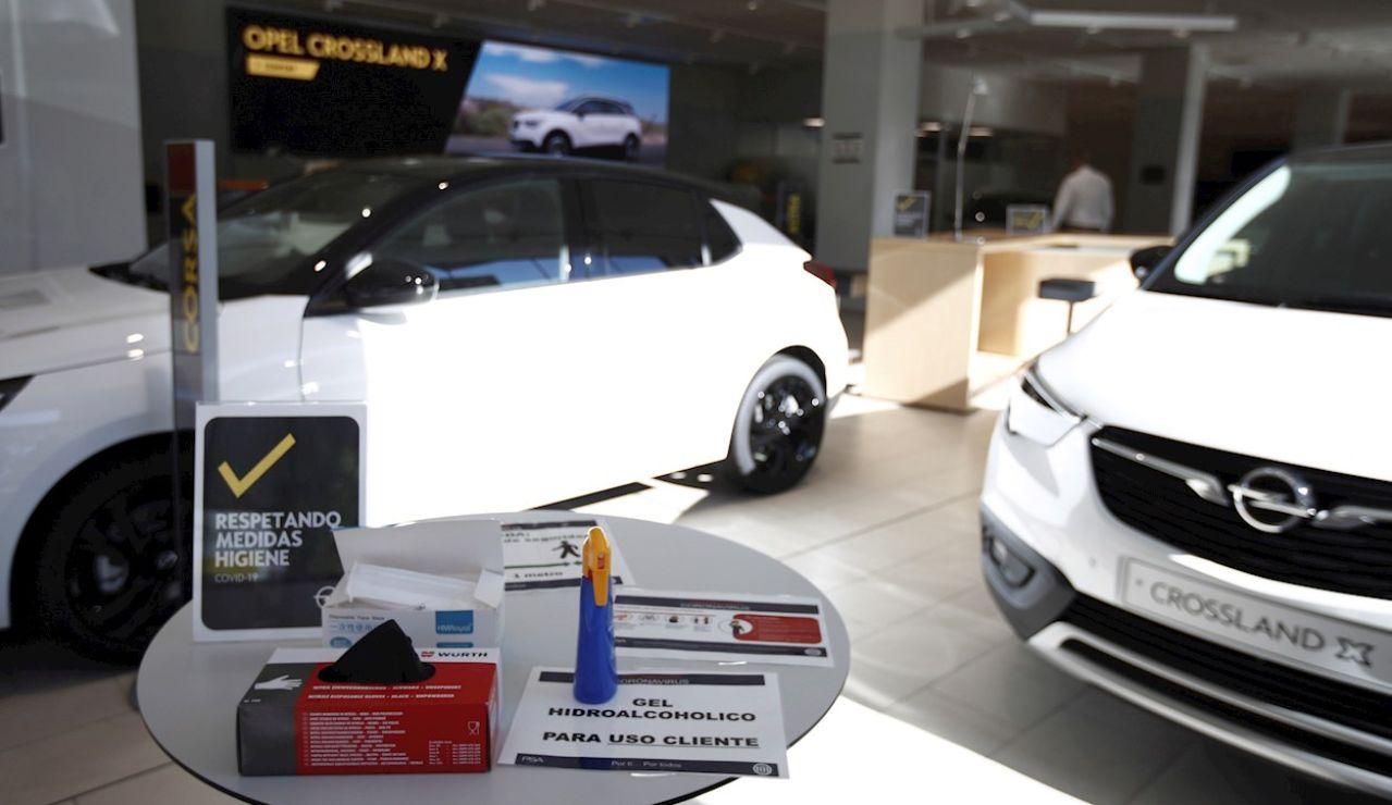 Concesionario de coches de la calle Doctor Esquerdo en Madrid