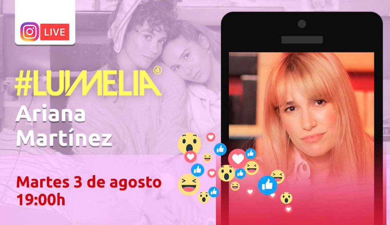 En directo con Ariana Martínez
