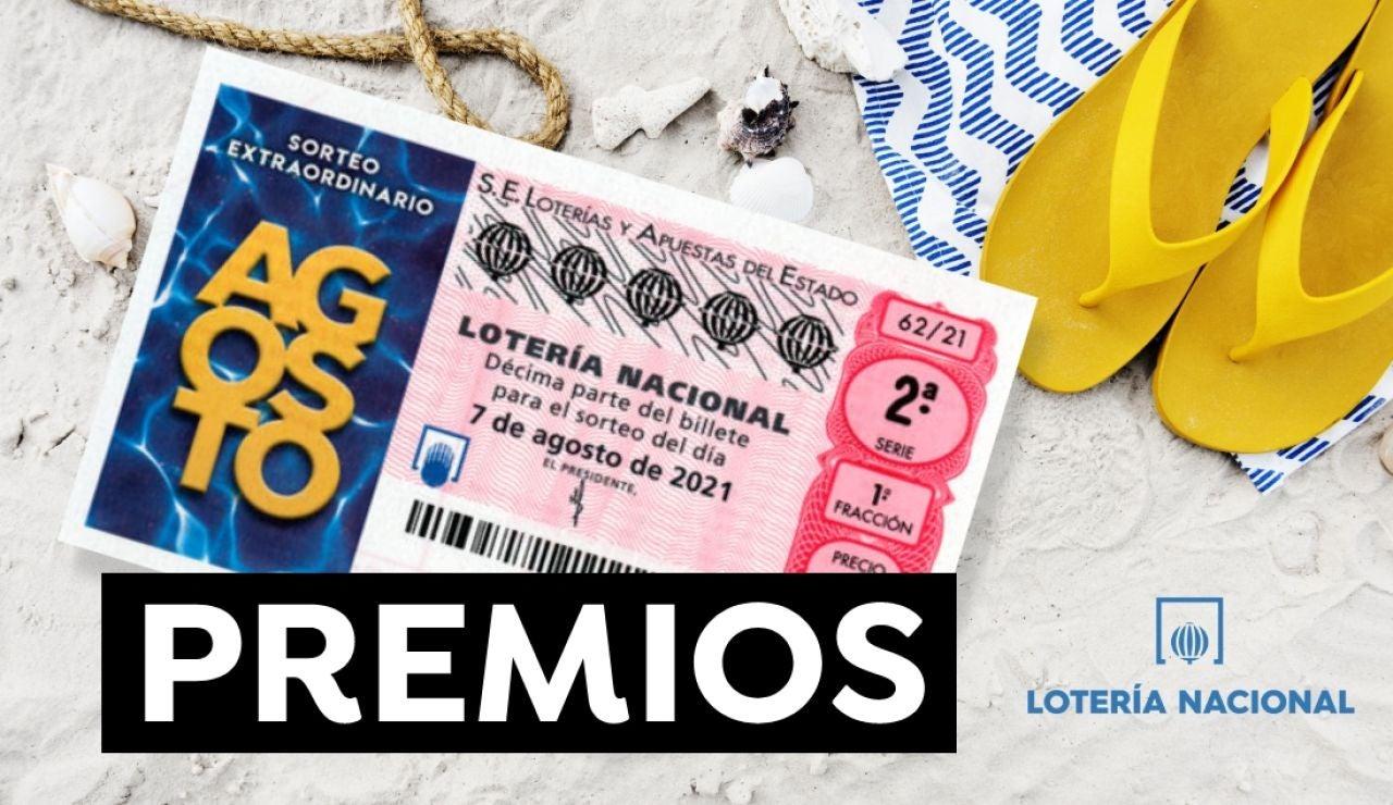Sorteo Extraordinario de Agosto 2021: Premios de la Lotería Nacional y probabilidad de ganar