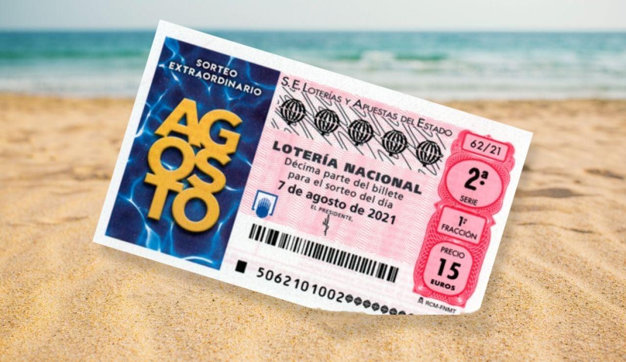 Sorteo Extraordinario de Agosto 2021 de la Lotería Nacional