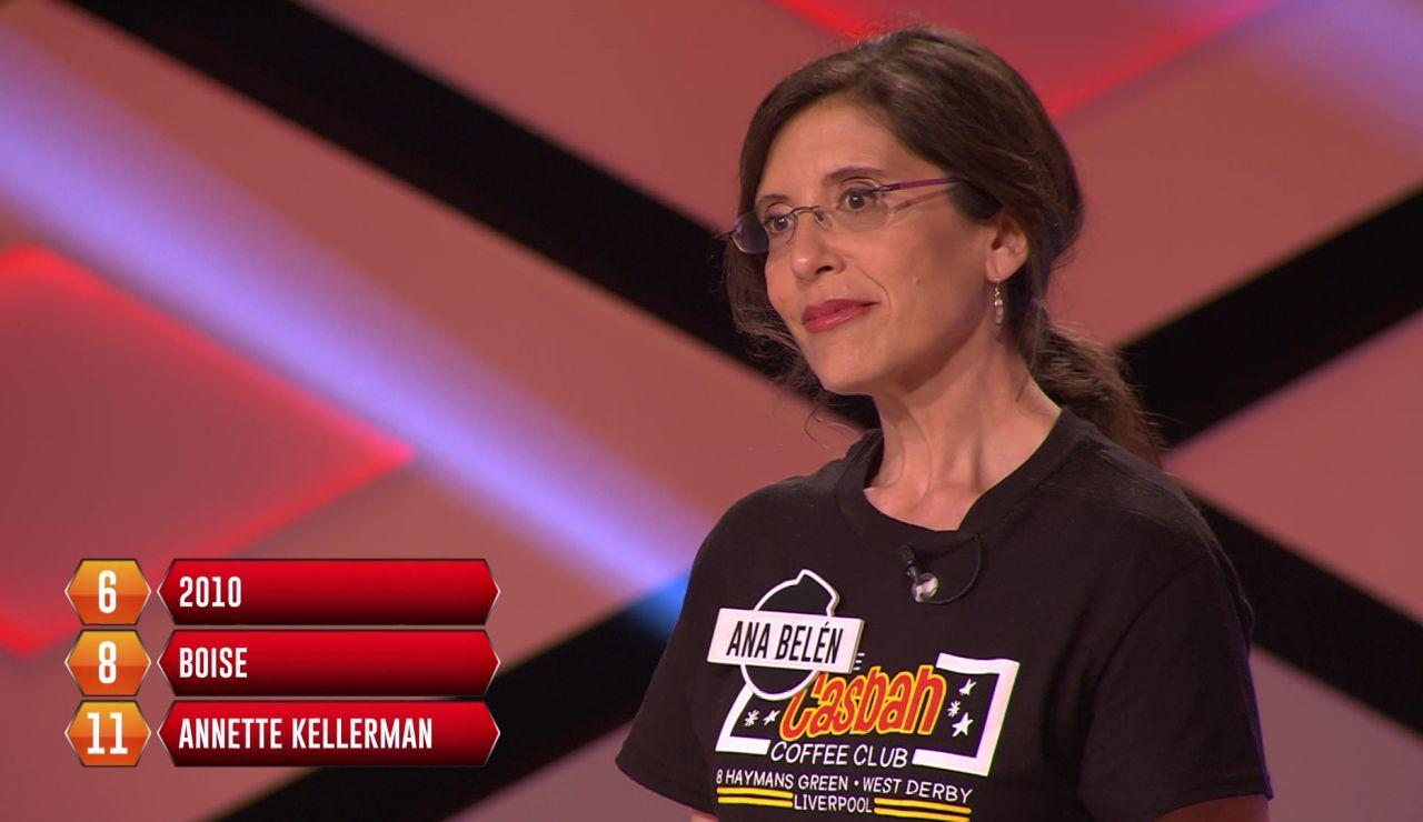 "Ana Belén, eliminada para la bomba final: ""Me sabía dos"""