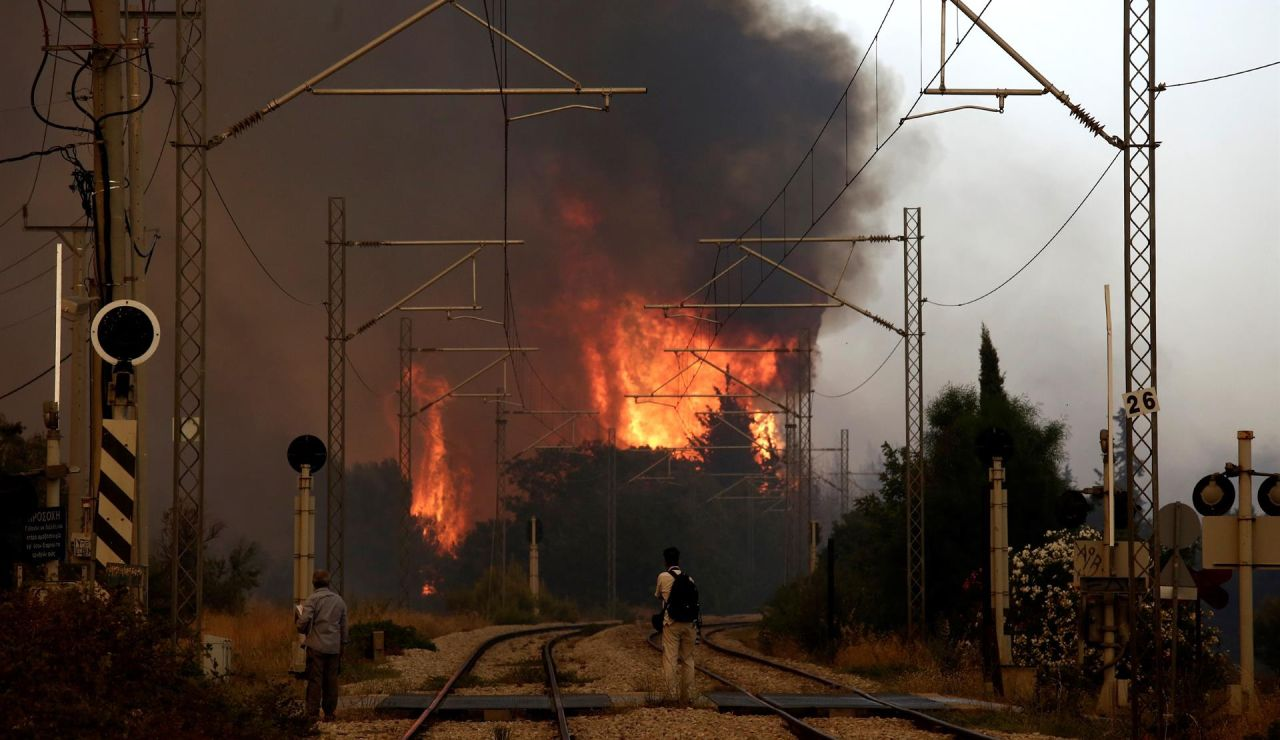Incendios Atenas