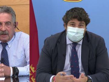 Fernando López Miras desmiente a Revilla.