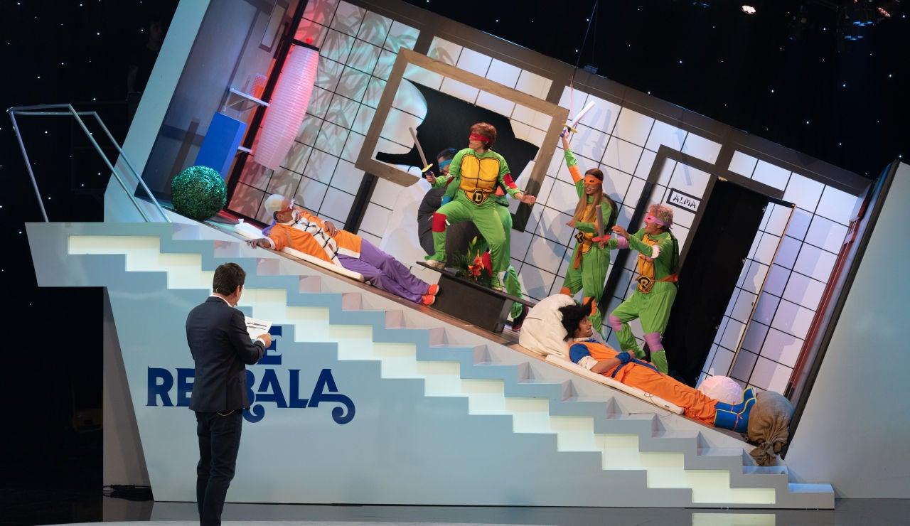 Tortugas Ninjas, rugidos, calambres... ¡Vuelve 'Me resbala'!