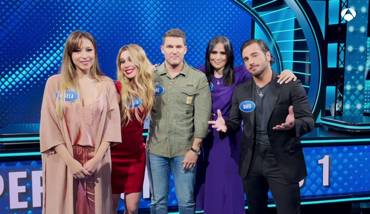 """El equipo 'OT' en 'Family Feud': """"Vamos a degüello contra el equipo 'Eurovision'"""""""