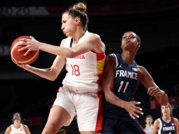 El basket se despide de las medallas tras la derrota de las españolas contra Francia