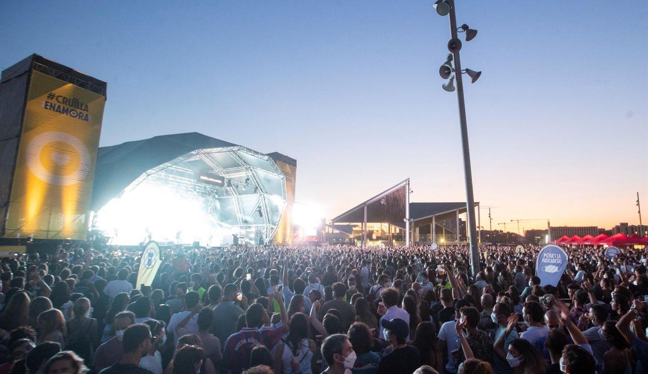 La Generalitat recoonoce el error de autorizar festivales por el aumento de contagios