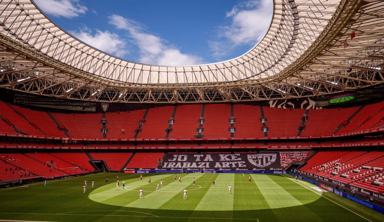 Los estadios vascos solo llenarán un 20% de las gradas