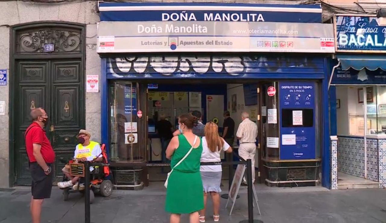 Doña Manolita Lotería Navidad 2021