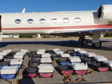 Detienen a un español que llevaba más de una tonelada de cocaína en un avión privado en Brasil