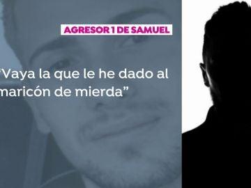 Mensaje de uno de los presuntos asesinos de Samuel.