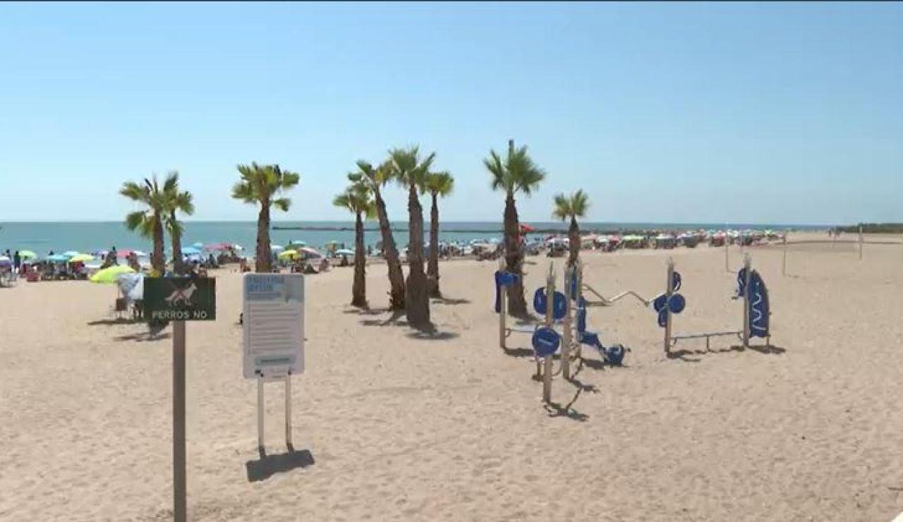 Playa El Campello, en Alicante