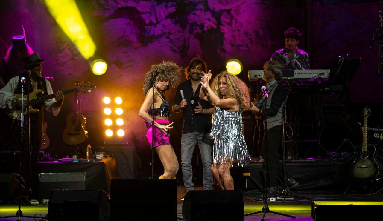 Rosario Flores, Lolita y Antonio Carmona rememoran el concierto que ofrecieron el primer año de Starlite