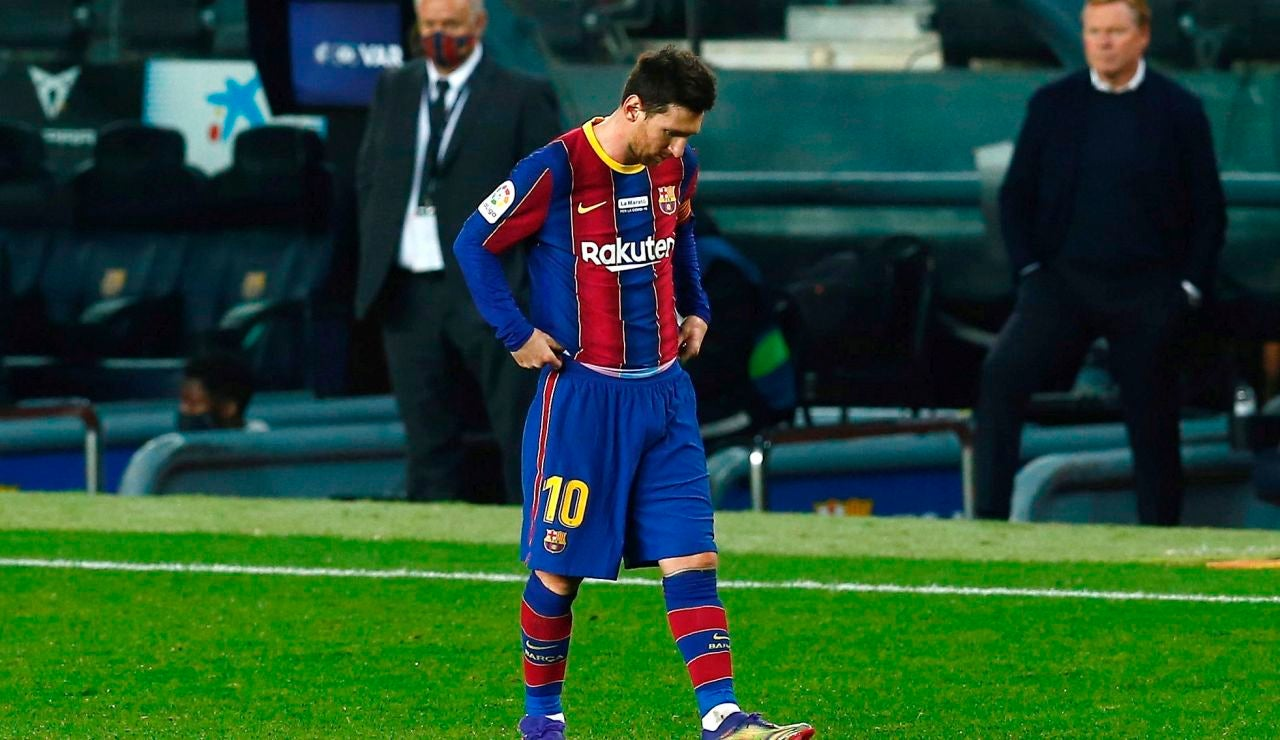 Consulta el comunicado oficial del FC Barcelona en el que anuncia que Messi deja el Barça