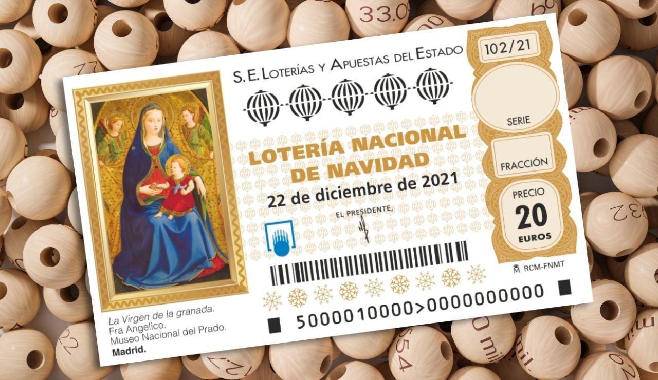 Comprar Lotería de Navidad 2021
