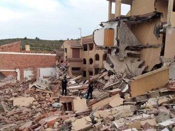 Así era el edificio de los años 90 que se ha derrumbado en Peñíscola