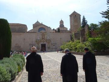 Detenido por tocamientos sexuales a una menor un monje del monasterio de Poblet en Tarragona