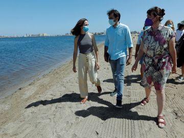 """Unidas Podemos plantea un Parque Regional del Mar Menor y una tasa al """"agronegocio"""" para proteger la laguna"""
