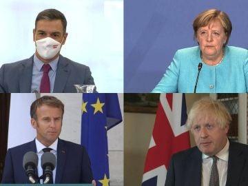 """Los líderes políticos europeos condenan los atentados en Kabul: """"Son cobardes e inhumanos"""""""