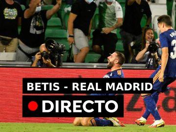 Betis - Real Madrid: Resultado y goles, en directo (0-1)