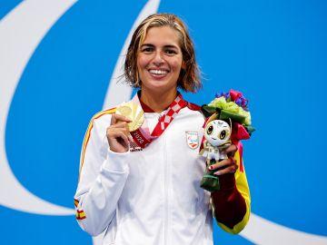 Michelle Alonso revalida su oro en los Juegos Paralímpicos con nuevo récord del mundo en los 100 metros braza