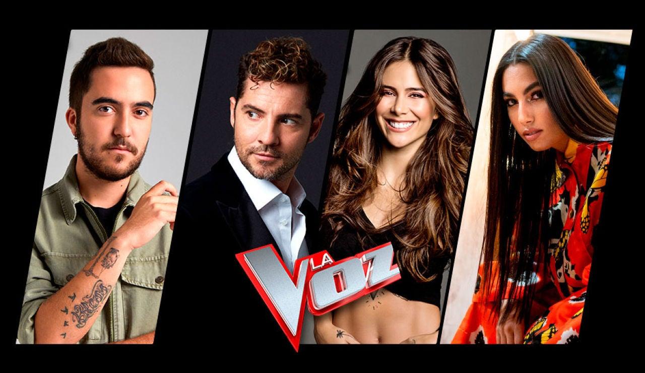 Beret, David Bisbal, Greeicy y María José Llergo serán los Asesores de la próxima edición de 'La Voz' en Antena 3