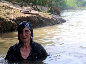 Attia, nadadora siria