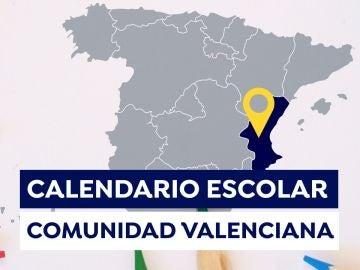 Calendario escolar Comunidad Valenciana2021-2022: Fechas de inicio de las clases, días lectivos y vacaciones