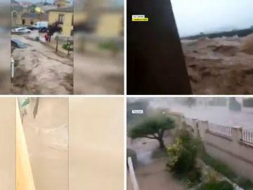 Las increíbles imágenes que la DANA deja Toledo, Tarragona y Valencia, en vídeo