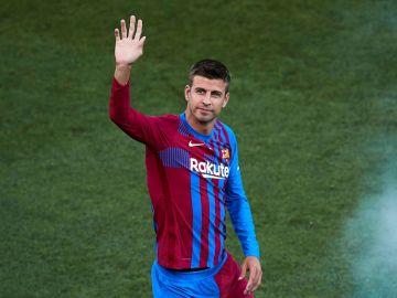 El jugador del FC Barcelona Gerard Piqué.