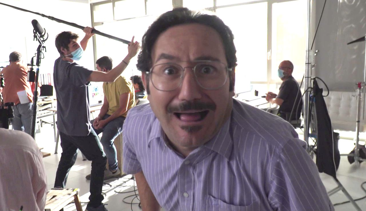 Making of: Así se rodó el reencuentro de Paco y Mariano con Povedilla en 'Los hombres de Paco'