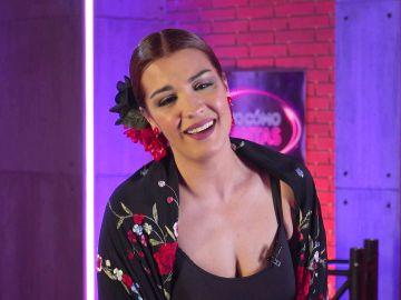 """Descubre a Yaiza García, la flamenca de 'Veo cómo cantas': """"Llevo 8 años siendo corista de Malú"""""""