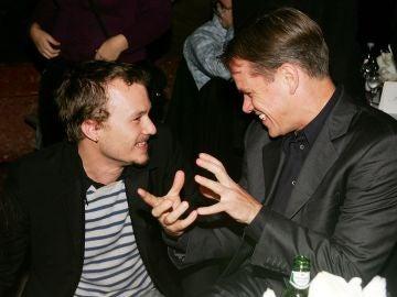 Heath Ledger y Matt Damon