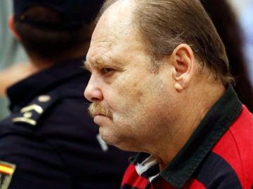 Antonio Ojeda. el Rubio, durante el juicio en la Audiencia de Las Palmas