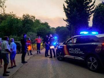 Las personas desalojadas de sus casas por el incendio de Málaga no saben cuando podrán volver
