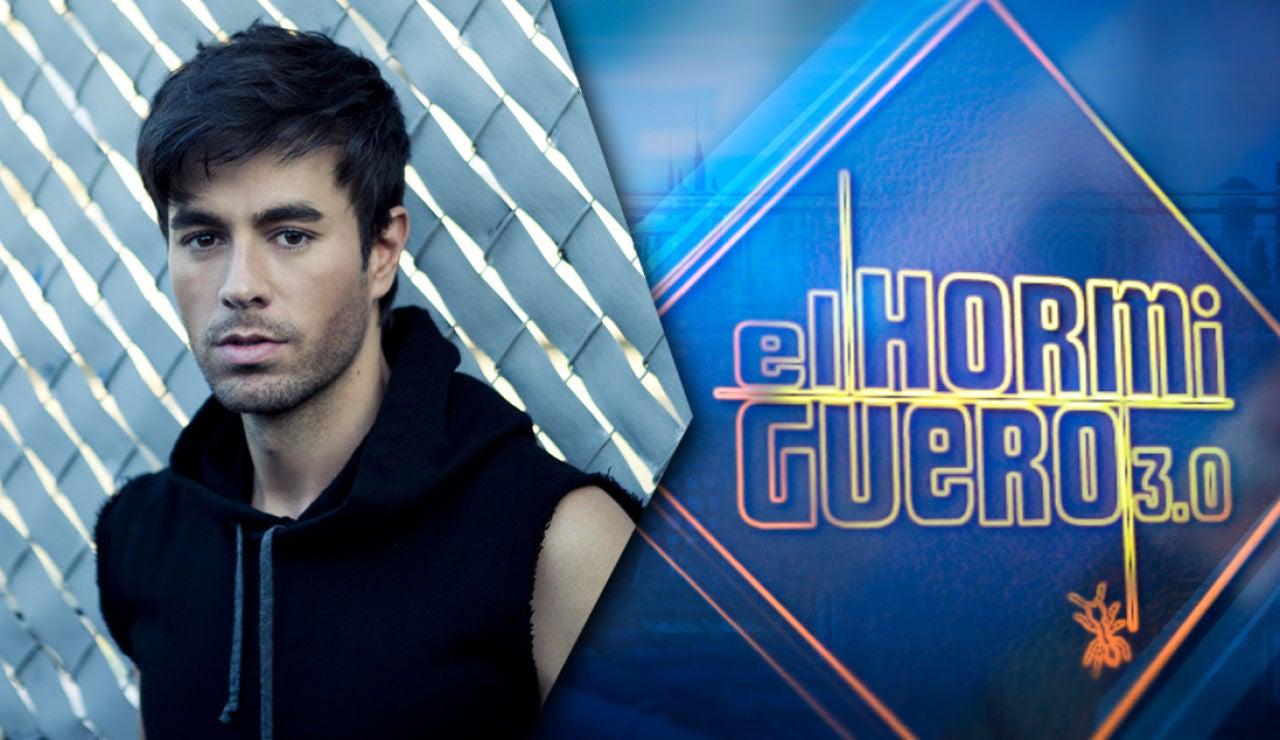 Enrique Iglesias presenta su nuevo disco en 'El Hormiguero 3.0' el jueves