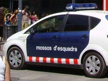 Coche Mossos d'Esquadra