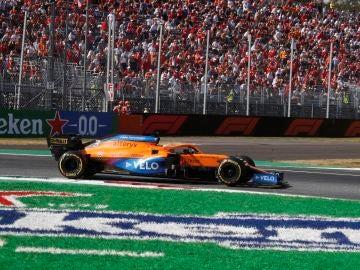 Doblete de McLaren en Monza en una carrera marcada por el accidente de Verstappen y Hamilton, Sainz 6º y Alonso 8º